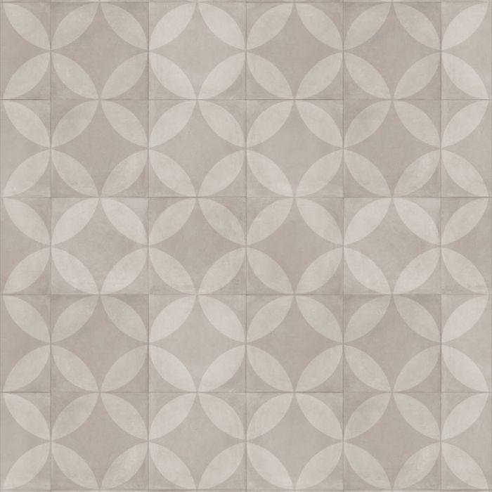 Almara - Tile Flower Light Beige Tegel