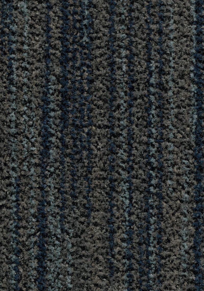 Coral Brush  - Slate blue